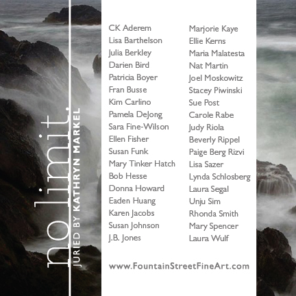 no limit at fountain street fine art